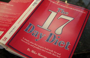 17 day diet book